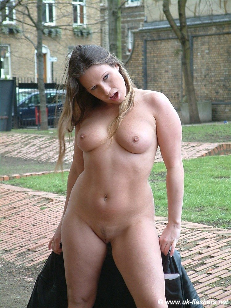 Nude girls in public videos