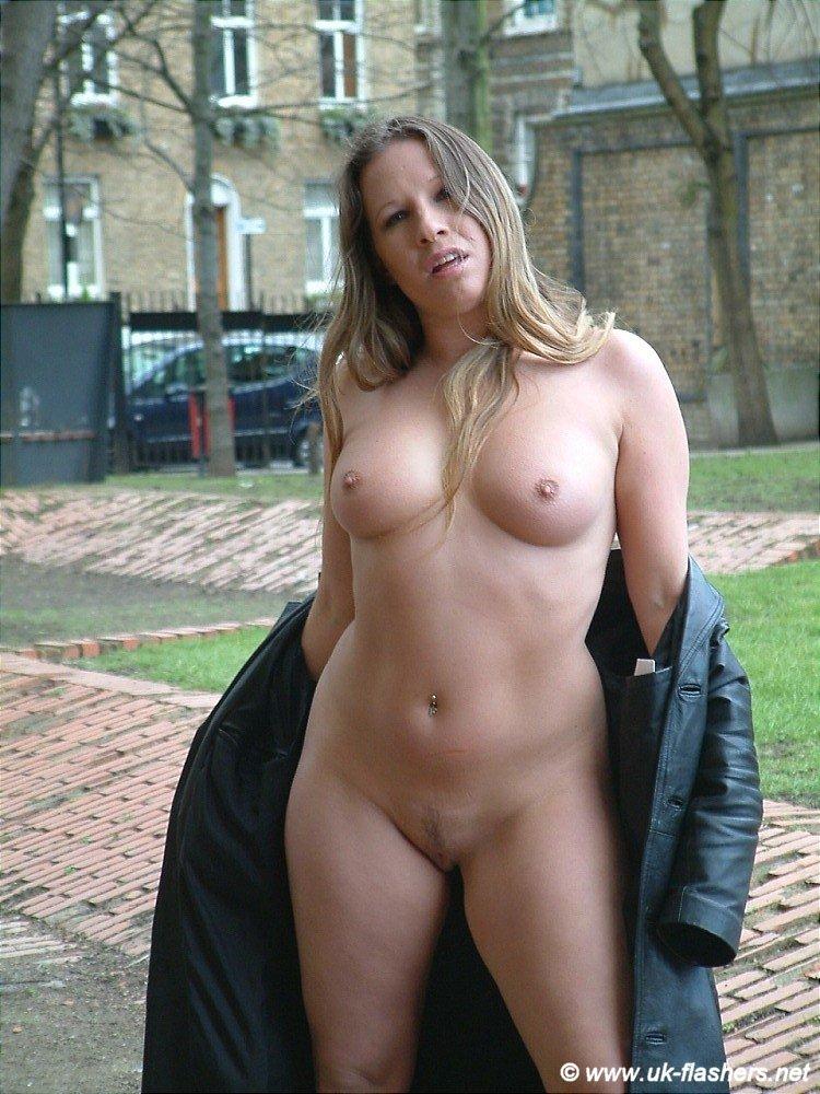 Busty female smoking