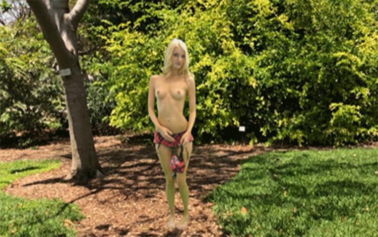 Public nudity AR